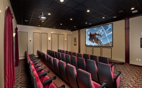 Paradise Palms Resort Movie Theatre